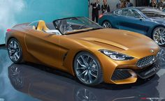 BMW Concept Z4 at the 2017 Tokyo Motor Show