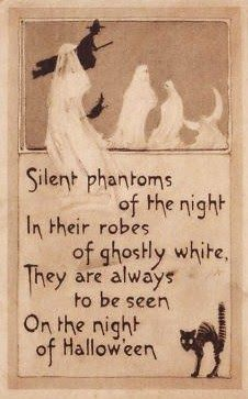 A very rare vintage Halloween postcard. Please feel free to save and use.