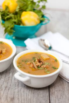 This is what we are having for dinner! Looks so good. Healthy Turkey Sausage, Potato & Winter Squash Chowder - Low Calorie, Low Fat Dinner Recipe