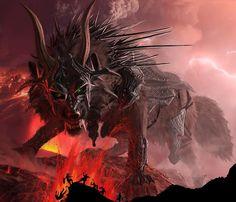 Fenris ou Fenrisulfr é o pai do lobos Skoll e Hati, é um filho de Loki, e é pressagiado para matar o deus Odin durante os eventos de Ragnarök, mas por sua vez, ser morto pelo filho de Odin Víðarr. Na Edda em prosa, informações adicionais são dadas sobre Fenrir, incluindo que, devido ao conhecimento dos deuses de profecias predizendo grandes problemas com Fenrir e seu rápido crescimento, os deuses o prendiam, e como resultado Fenrir arrancou a mão direita do deus Týr.