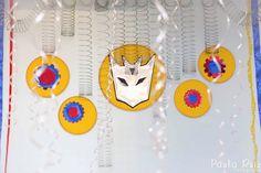 Frescurinhas Personalizadas: Festa Transformers!