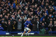Jan. 2017: Local boy Tom Davies scored for Everton against Manchester City
