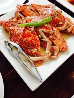Spicy Ginataang Crabs Yummy!!