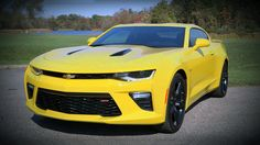 Review of the new 2016 Chevrolet Camaro SS