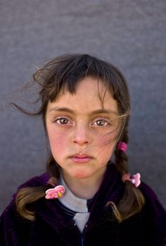 Picture of a Syrian refugee girl