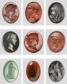 Ancient Greek Art, Roman Jewelry, Classical Antiquity, Cameo Pendant, Engraved Jewelry, Ancient Jewelry, Stone Carving, Gems And Minerals, Roman Empire