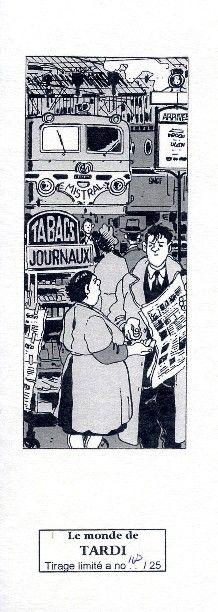Tardi, Jacques - ex-libris