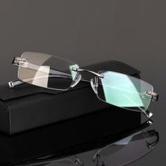71b2f51a476   22% OFF   Rimless Tr90 Gold Glasses Frame Men Eyewear Eyeglasses Frames  For Male