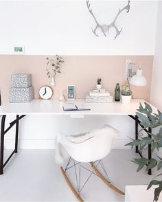 @lekkerfrisのInstagram写真をチェック • いいね!616件 Furniture Decor, Office Desk, Sweet Home, Room Decor, Space, Interior Design, Bedroom, House, Instagram