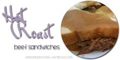 Hot Roast Beef Sandwich with Sauce BEEF Beef Hot with Roast sandwich Sun - The world's most private search engine Roast Beef Gravy, Roast Beef Recipes, Meat Recipes, Crockpot Recipes, Meatloaf Recipes, Dinner Recipes, Cooking Recipes, Healthy Recipes, Hot Roast Beef Sandwiches