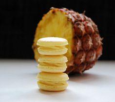 macaron pina colada