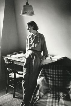 * Carson McCullers 1946 - photo Henri Cartier-Bresson