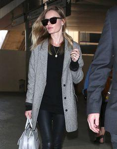 Kate Bosworth Arrives in LA