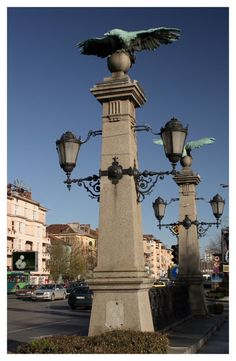 """Orlov Most"" Bridge in Sofia, Bulgaria"