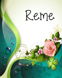 BANCO DE IMÁGENES: 70 postales de rosas con nombres de mujeres - Busca el tuyo !