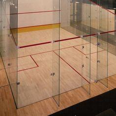 Suelos gimnasios para squash