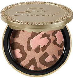 Too Faced Cosmetics Leopard Blushing Bronzer