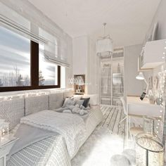Cute Bedroom Ideas, Minimalist Room, Pretty Room, Childrens Room Decor, Home Design Plans, Aesthetic Rooms, Dream Rooms, Cool Rooms, My New Room