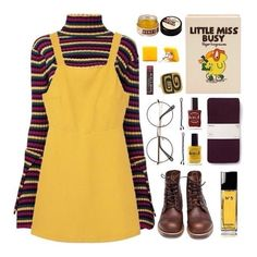 """""""Little Miss Busy"""" von pink-quartz ❤ mochte Poly… Grunge Outfits, Retro Outfits, Fall Outfits, Vintage Outfits, Casual Outfits, Summer Outfits, 90s Fashion, Look Fashion, Korean Fashion"""