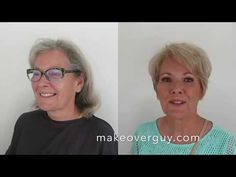 Elképesztő videó! Hair And Makeup Tips, Hair Makeup, Young At Heart, Aging Gracefully, Hair Hacks, Short Hair Styles, Guys, My Style, Youtube