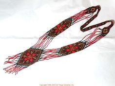 Ukrainian Gherdany Beadwork  # 03-6031 handmade in Ukraine. Originally sold on http://www.allthingsukrainian.com/Jewelry/index.htm