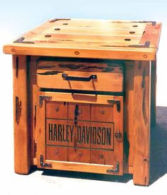 Harley Nightstand...Very nice