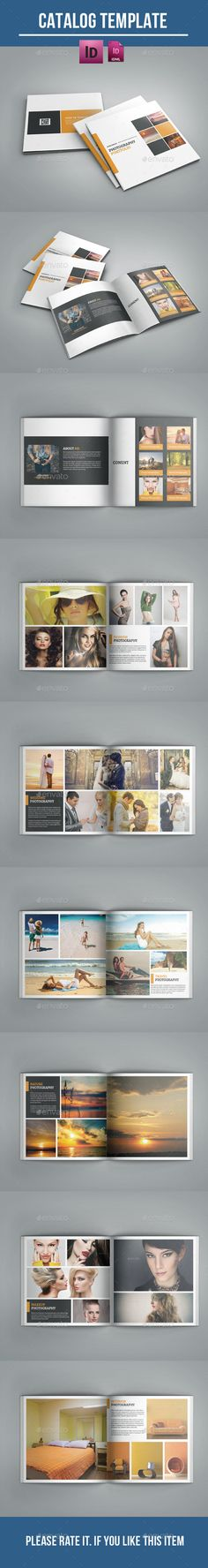Photographer portfolio — InDesign INDD #architecture #indesign • Available here → https://graphicriver.net/item/photographer-portfolio/12123816?ref=pxcr
