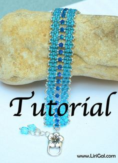 Super-duo Beaded Bracelet Tutorial by Lirigal on Etsy.com     I like the color combination