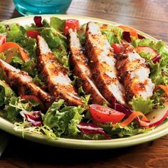 Grilled Chicken Salad - The Mexican Restaurant and Bar - Zmenu, The Most Comprehensive Menu With Photos