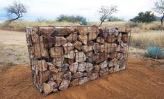 Gabion walls for form and function by Joe Mooney
