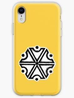 'Perun, Slavic God of Thunders symbol (iPhone Yellow version)' iPhone Case by WearGraphics Iphone Wallet, Iphone Cases, Pagan Symbols, Framed Prints, Art Prints, Laptop Skin, Deities, Wicca, Thunder