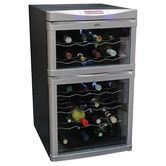 Found it at Wayfair - 24 Bottle Dual Zone Thermoelectric Wine Refrigerator