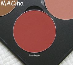 """MAC - Blush refill in """"Burnt Pepper""""   Source: http://www.specktra.net/t/182272/mac-all-about-orange-collection-june-2013/90"""