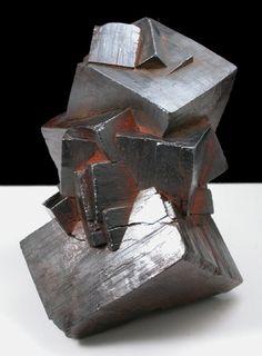 Goethite Pseudomorph After Pyrite