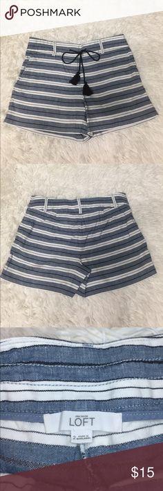 Ann Taylor Loft The Riviera Shorts Size 2 Tassel Ann Taylor Loft The Riviera Shorts Size 2. With tie tassels. LOFT Shorts