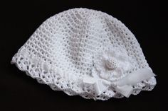 Quick Crochet, Double Crochet, Single Crochet, Free Crochet, Crochet Baby Hat Patterns, Crochet Baby Hats, Crochet Hooks, Beginner Crochet Projects, Crochet For Beginners