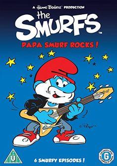 Smurfs Papa Smurf Rocks 5030697024244 DVD Region 2 for sale online Classic Cartoon Characters, Cartoon Tv Shows, Classic Cartoons, Paul Winchell, Smurf Village, Fairly Odd Parents, Rock Sound, Simpsons Art, Disney Wallpaper