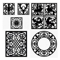 If you need quality decorating patterns, carefully search this category of free vector patterns, and find a pattern that meets your criteria. Animal Silhouette, Silhouette Vector, Pattern Art, Free Pattern, Free Vector Patterns, Celtic Patterns, Wood Carving Patterns, Cnc Plasma, Art Nouveau Design