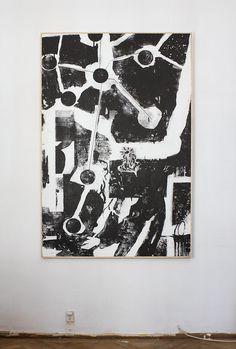 """Seeker"" 150x100cm mokulito print by Oskar Jamrozek"