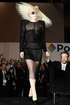 An LBD and a pair of YSL patent pumps – surely we're not talking about Lady GaGa? Oh wait, how could miss that sunflower hairpiece? Japanese Streets, Japanese Street Fashion, Spring Carnival, Crazy Outfits, Weird And Wonderful, Lady Gaga, Wardrobes, Hair Pieces, World Of Fashion