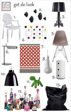 Muebles y accesorios de diseño