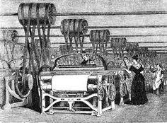 Risultati immagini per rivoluzione industriale telaio arkwright