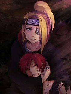 Aw, poor Dei... Sasori was his best-friend!
