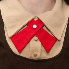 Lady Tie  Red  Womens Neck Tie by flappergirl on Etsy, $18.00