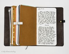 Bullet Journaling in a Traveler's Notebook (with Pictures)