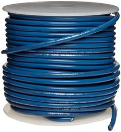 "UL1015 Commercial Copper Wire, Bright, Blue, 18 AWG, 0.0403"" Diameter, 100' Length (Pack of 1) by Small Parts. $20.09. UL1015 .030'' PVC insulation rated 600 volts temp range -40 to 105 C, blue color"