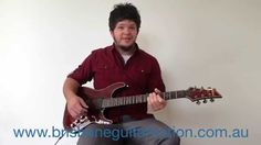 Brisbane Guitar Tuition's Weekly Tip: - Pick Control