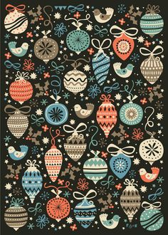 Wrapping Paper Collection by Poppy & Red in Awesome Christmas Card Designs