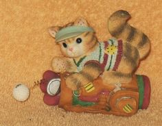 "Enesco Calico Kittens "" winning drive "" mnb by Catloversdream on Etsy"