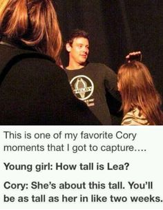 #ripcory you were so totally awesome